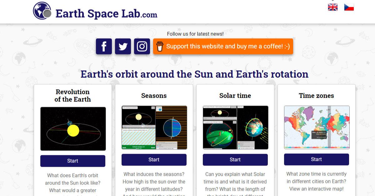 www.earthspacelab.com